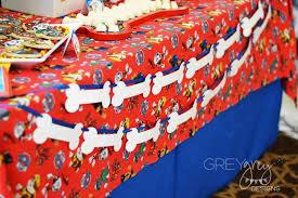 kara u0027s party ideas dog bone banner garland paw patrol