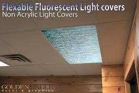 allen roth capistrano white acrylic ceiling fluorescent light flexible fluorescent light cover films skylight ceiling office