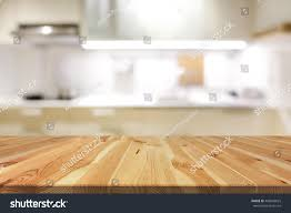 Kitchen Interior Photo Natural Pattern Wood Table Top Or Stock Photo 406848625 Shutterstock