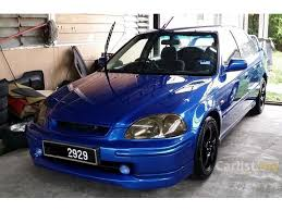 honda civic 1998 vti honda civic 1998 vti 1 6 in johor automatic sedan blue for rm