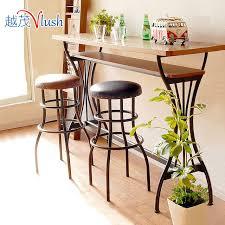 Mini Bar Table Bar Tables Wrought Iron Bar Stools Combination Mini Bar Breakfast