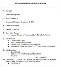 meeting agenda template download