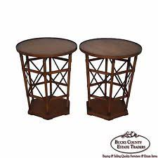 Drum Accent Table Threshold Granby Cylinder Drum Accent Table Brass Ebay