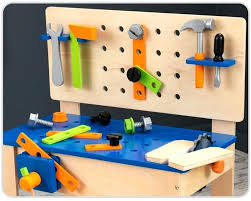 Toddler Tool Benches - tags1 workbench tool set wooden pretend play indoor kids s u2013 robsbiz
