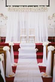 Church Decorations For Wedding 555 Best U003c3 Images On Pinterest Events Church Decorations And