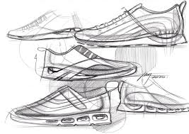 sketch a day 179 running shoes sketch a day sketches by