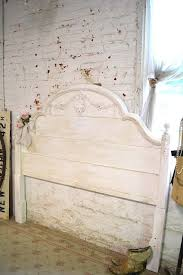 french headboard painted cottage romantic french shabby chic hea