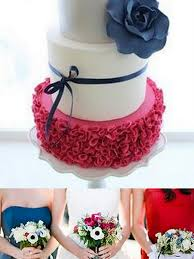 red white and blue weddings