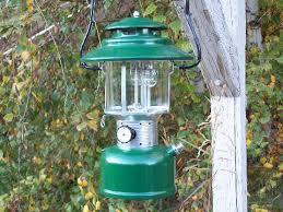 lighting a coleman lantern somethin different
