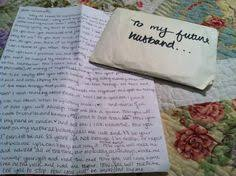 4 reasons to write letters to your future husband writing