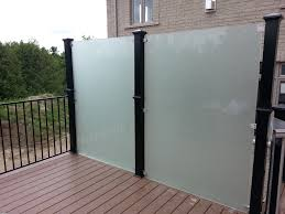 Privacy Screens For Patio by Etched And Sandblasted Glass For Patio Railings Google Search