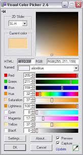 visual color picker download