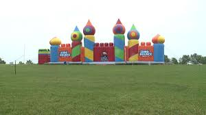 black friday bounce house neighbor caught on camera unplugging bounce house as kids played