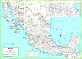 Colorado Map With Cities And Towns by Political Map Of Mexico Best Map Mexi Evenakliyat Biz