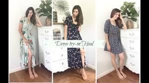 downeast dresses dress try on haul east shein