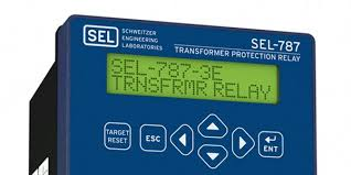 sel 787 transformer protection relay schweitzer engineering
