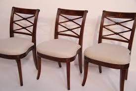 Cross Back Dining Chairs Mahogany Cross Back Dining Chairs Antique Reproductions