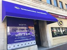 Evanston Awning Insomnia Cookies Hacks And Tips North By Northwestern