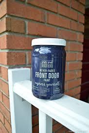 Front Door Paint by The Magic Of A Painted Front Door