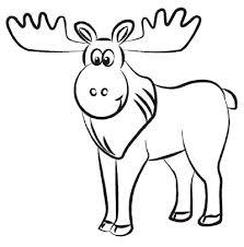 moose clipart sketch pencil and in color moose clipart sketch