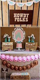 brown birthday party pink and aqua themed birthday party on http pizzazzerie