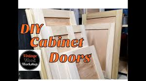 diy tongue and groove hardwood cabinet doors kitchen remodel 1