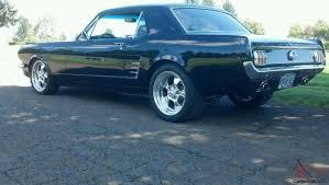 Black 1965 Mustang Mustang