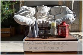 papasan chair fuzzy cushion chair home furniture ideas 3zdxywr0gp