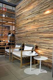 pretentious modern wood wall paneling panels living room clock
