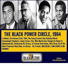 Black Power Memes - the black power circle 1964 in miami on february 25th 1964 the young