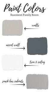 basement paint colors basements family rooms and paint colors