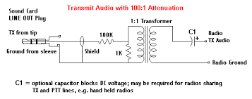 transmit tx audio cable