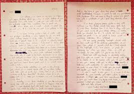 I M Sitting In My Room - people show us their old love letters vice