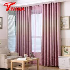 vorhã nge fã r schlafzimmer rustikales floral blätter designer rosa vorhänge für wohnzimmer