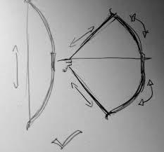archery drawing