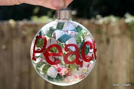 custom glass ornaments with words by lindyludesigns on
