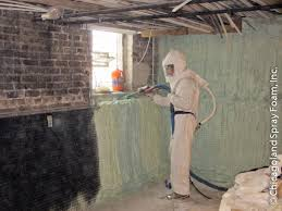 Exterior Basement Wall Insulation by Closed Cell Insulation Basement Waterproofing Mold
