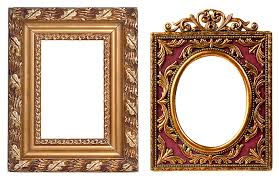free photo carved baguette gold filigreed ornament frame max pixel