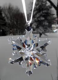 swarovski swarovski 2012 christmas ornament little snowflake