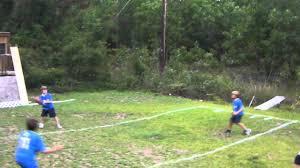blythewood backyard football league game 2 first half youtube