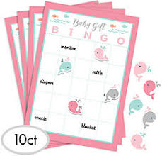 baby showergames baby shower baby shower bingo party city canada