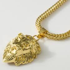 men gold necklace pendant images Hiphop gold necklaces pendants men statement unisex collares jpg