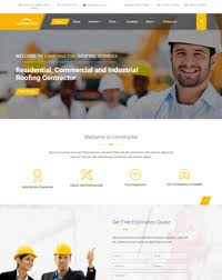 repair and maintenance wordpress themes for construction