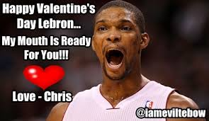 Chris Bosh Meme - 10 hilarious chris bosh memes 1 chris bosh vday