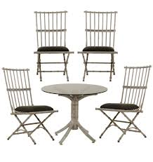 Cast Aluminum Patio Tables Set Of Cast Aluminum Patio Furniture Rejuvenation