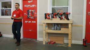milwaukee tool m18 fuel nailers first look youtube