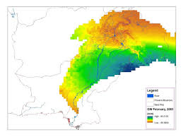 Data Map News Nasa Data Used To Track Groundwater In Pakistan