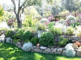 Steep Hill Backyard Ideas Backyard Landscaping Slope Sloped Backyard Ideas Sloping Lawn