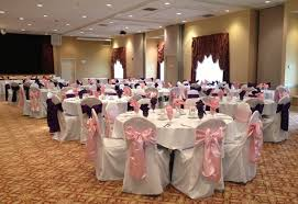 pink chair sashes pink satin sashes s party rental