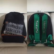 nissan honda toyota my new takataracing backpack best backpack i think i u0027ve ever had